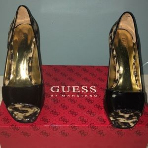 Guess by Marciano Black Platform